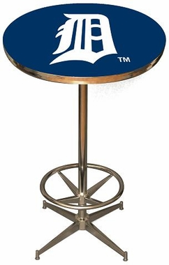 Detroit Tigers Team Pub Table