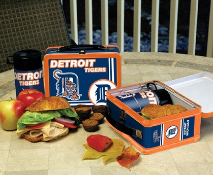 Detroit Tigers Tin Lunch Box