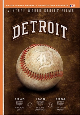 Detroit Tigers Vinate Series DVD