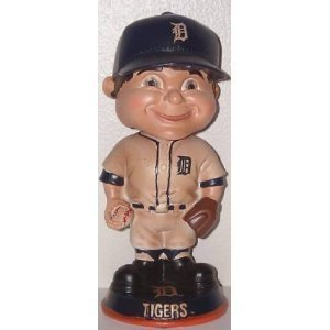 Detroit Tigers Vintage Retro Bobble Head
