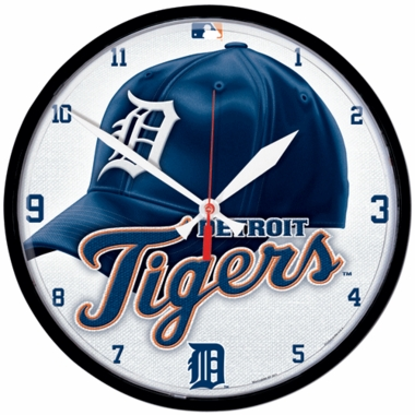 Detroit Tigers Wall Clock