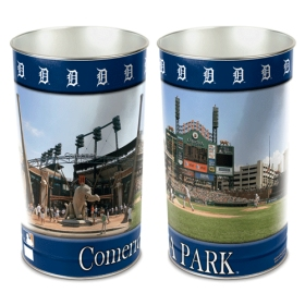 Detroit Tigers Waste Basket