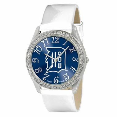 Detroit Tigers Women's Glitz Watch