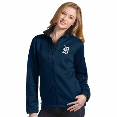 Detroit Tigers Womens Traverse Jacket (Team Color: Navy) - Large