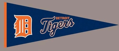 Detroit Tigers Wool Pennant