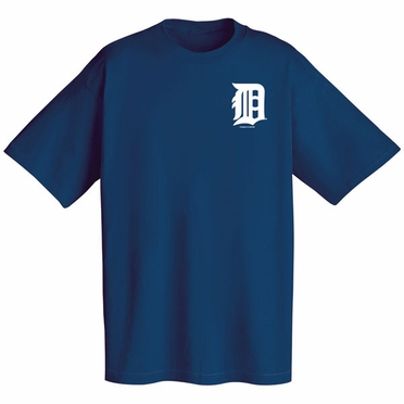 Detroit Tigers Wordmark T-Shirt