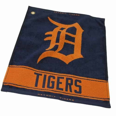Detroit Tigers Woven Golf Towel