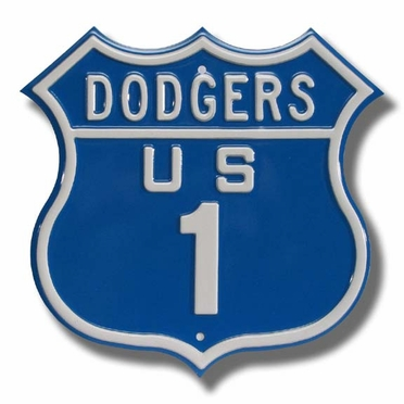 Dodgers / 1 Route Sign