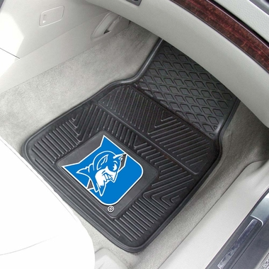 Duke 2 Piece Heavy Duty Vinyl Car Mats