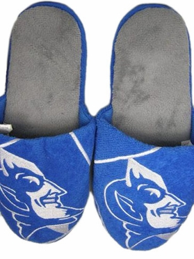 Duke 2011 Big Logo Hard Sole Slippers (Two Tone)