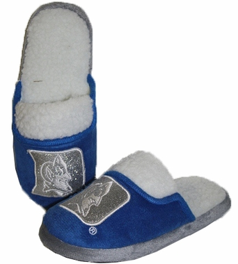 Duke 2012 Womens Team Color Sherpa Glitter Slippers