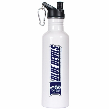 Duke 26oz Stainless Steel Water Bottle (White)