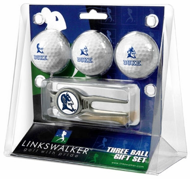 Duke 3 Ball Gift Pack With Kool Tool