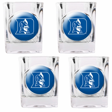 Duke 4 Piece Shot Glass Set