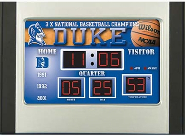 Duke Alarm Clock Desk Scoreboard
