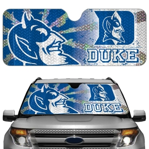 Duke Blue Devils Auto Sun Shade