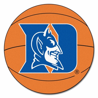 Duke Basketball Shaped Rug