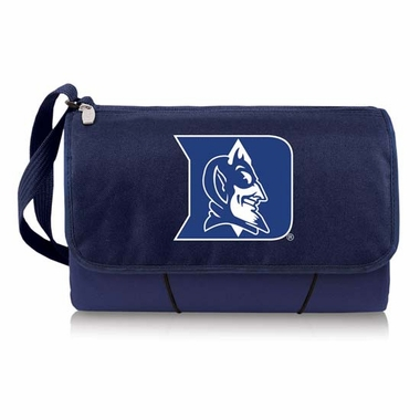 Duke Blanket Tote (Navy)