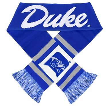 Duke Blue Devils 2012 Team Stripe Knit Scarf