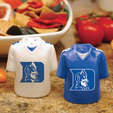 Duke Ceramic Jersey Salt and Pepper Shakers