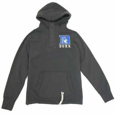 Duke Charcoal Velocity Hooded Sweatshirt