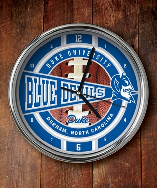 Duke Chrome Clock