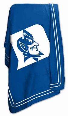 Duke Classic Fleece Throw Blanket