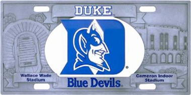 Duke Deluxe Collector's License Plate