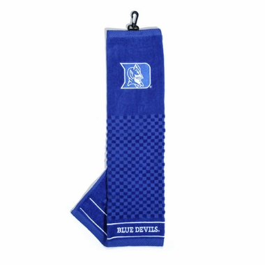 Duke Embroidered Golf Towel