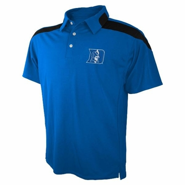 Duke Embroidered Logo Polyester Polo Shirt