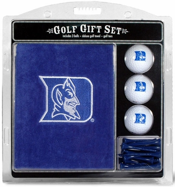 Duke Embroidered Towel Gift Set