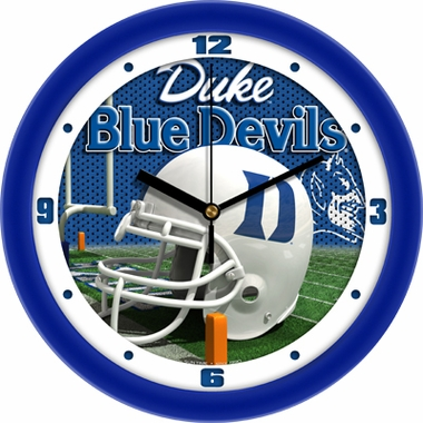 Duke Helmet Wall Clock