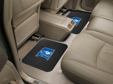 Duke SET OF 2 Heavy Duty Vinyl Rear Car Mats