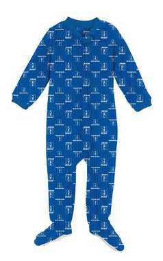 Duke Infant Footed Full Zip Raglan Coverall Sleeper