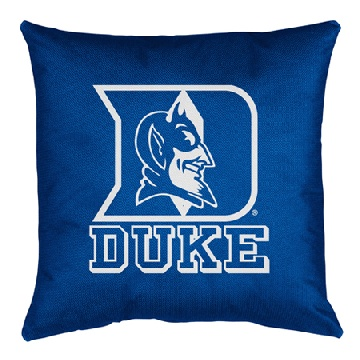 Duke Jersey Material Toss Pillow