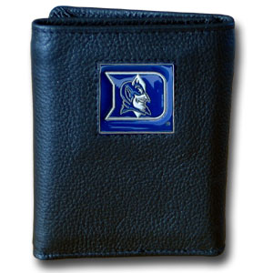 Duke Leather Trifold Wallet (F)