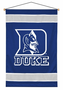 Duke SIDELINES Jersey Material Wallhanging