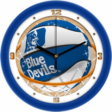 Duke Slam Dunk Wall Clock
