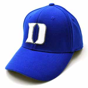 Duke Team Color Premium FlexFit Hat - Large / X-Large
