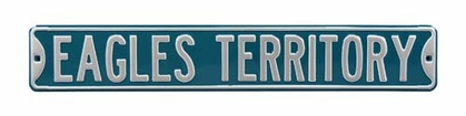 Eagles Territory Street Sign