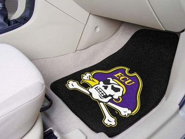 East Carolina 2 Piece Car Mats
