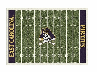 "East Carolina 3'10"" x 5'4"" Premium Field Rug"