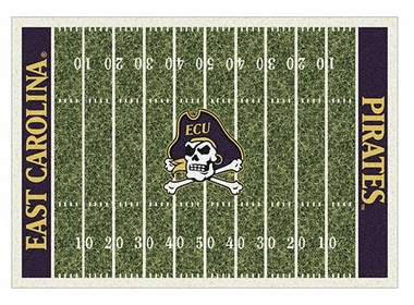 "East Carolina 5'4"" x 7'8"" Premium Field Rug"