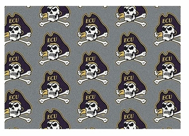 "East Carolina 5'4"" x 7'8"" Premium Pattern Rug"