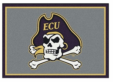 "East Carolina 5'4"" x 7'8"" Premium Spirit Rug"