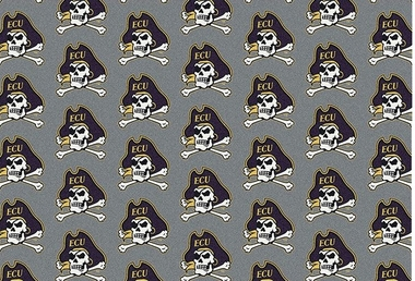 "East Carolina 7'8 x 10'9"" Premium Pattern Rug"