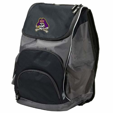 East Carolina Action Backpack (Color: Black)