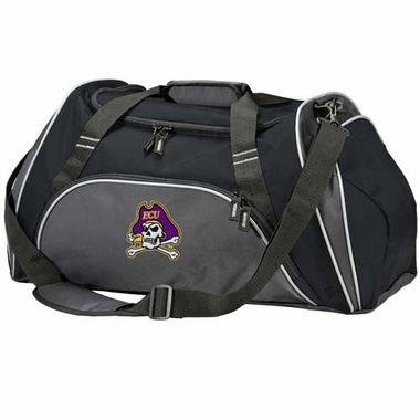 East Carolina Action Duffle (Color: Black)