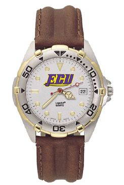 East Carolina All Star Mens (Leather Band) Watch