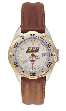 East Carolina All Star Womens (Leather Band) Watch